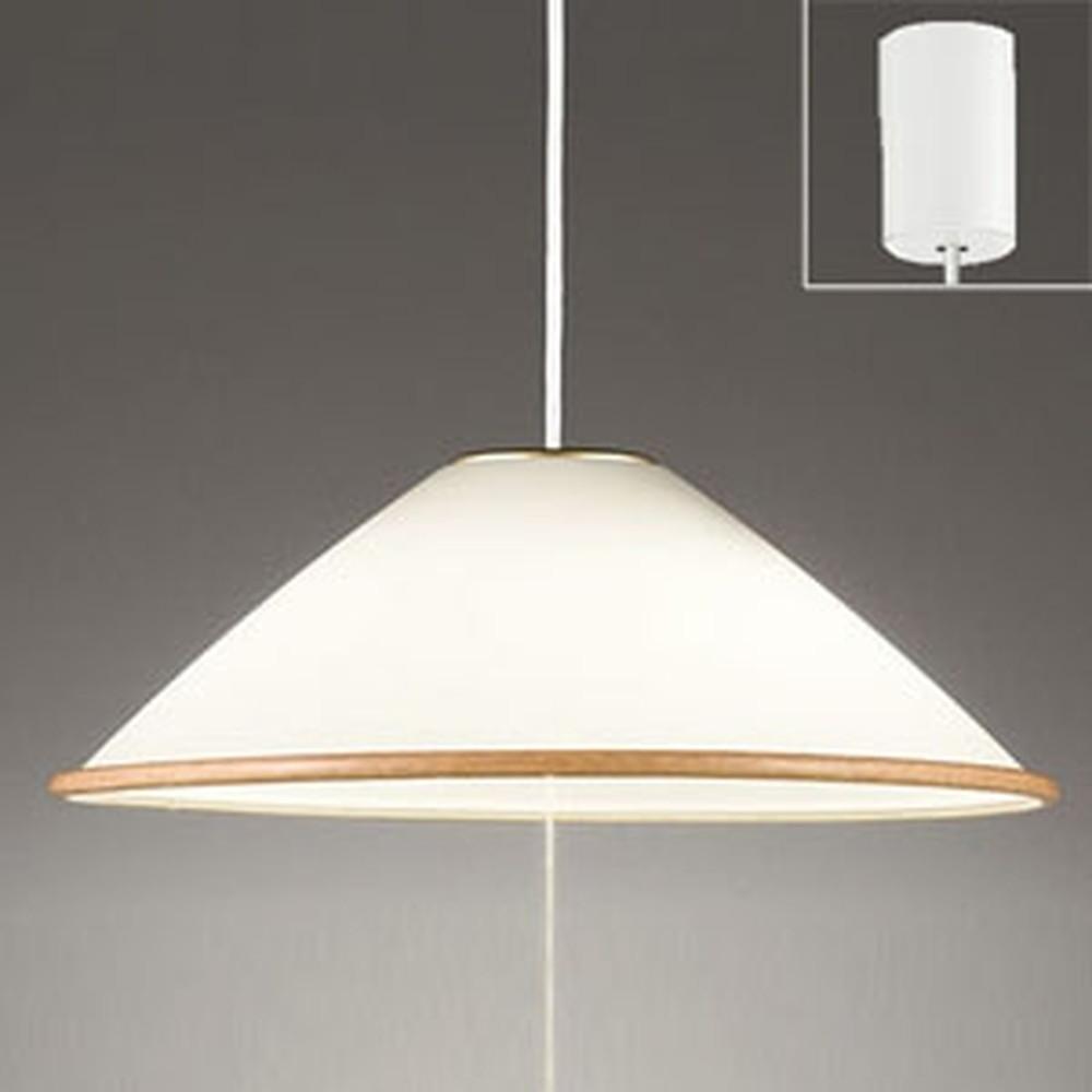 オーデリック LEDペンダントライト 白熱灯100W×2灯相当 電球色 プルスイッチ付 OP087317LD