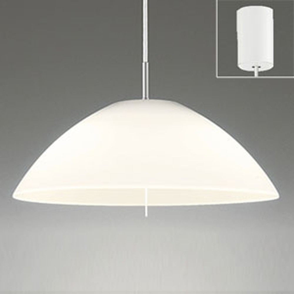 オーデリック LEDペンダントライト 白熱灯100W×2灯相当 電球色 プルスイッチ付 OP087392LD