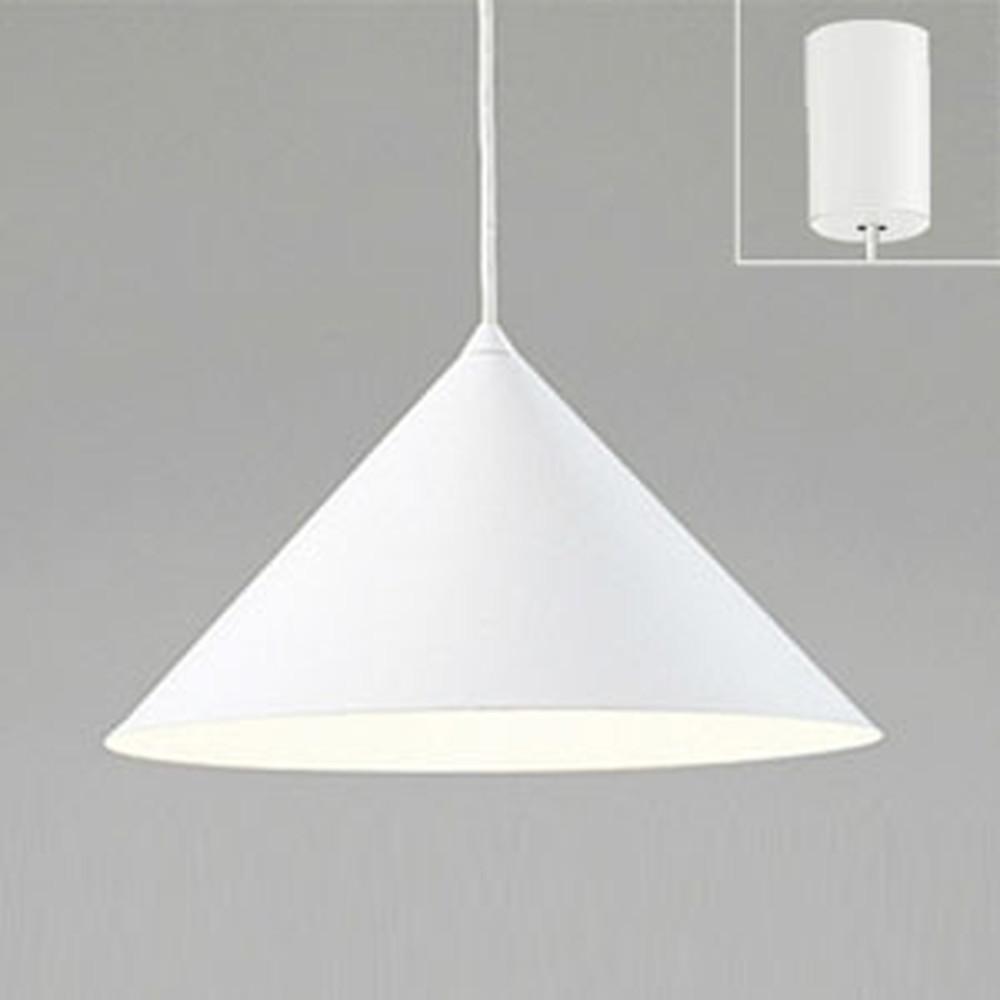オーデリック LEDペンダントライト 白熱灯100W相当 電球色 マットホワイト OP087436LD