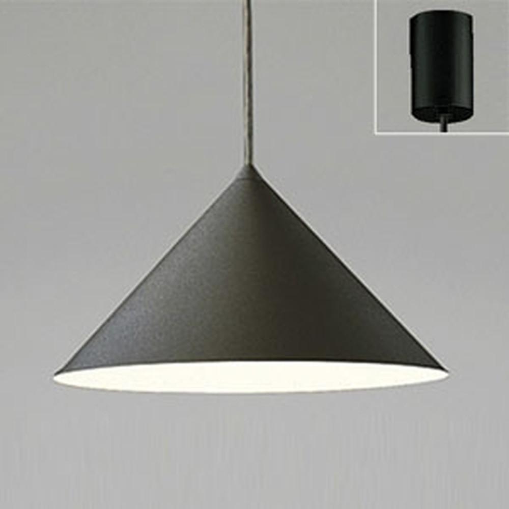 オーデリック LEDペンダントライト 白熱灯100W相当 電球色 マットブラック OP087437LD