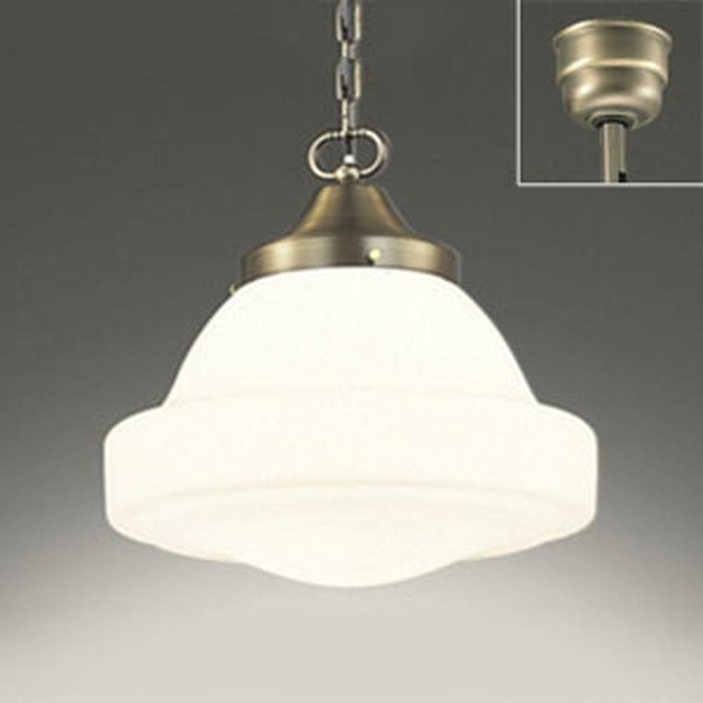 オーデリック LEDペンダントライト 白熱灯100W相当 電球色 調光タイプ OP210571LC
