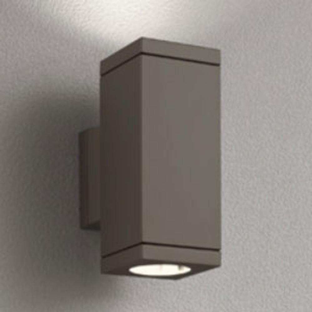 オーデリック LEDポーチライト 防雨型 上下配光タイプ JDR50W×2灯相当 E11口金 ランプ別売 ダークウォームグレー OG254390