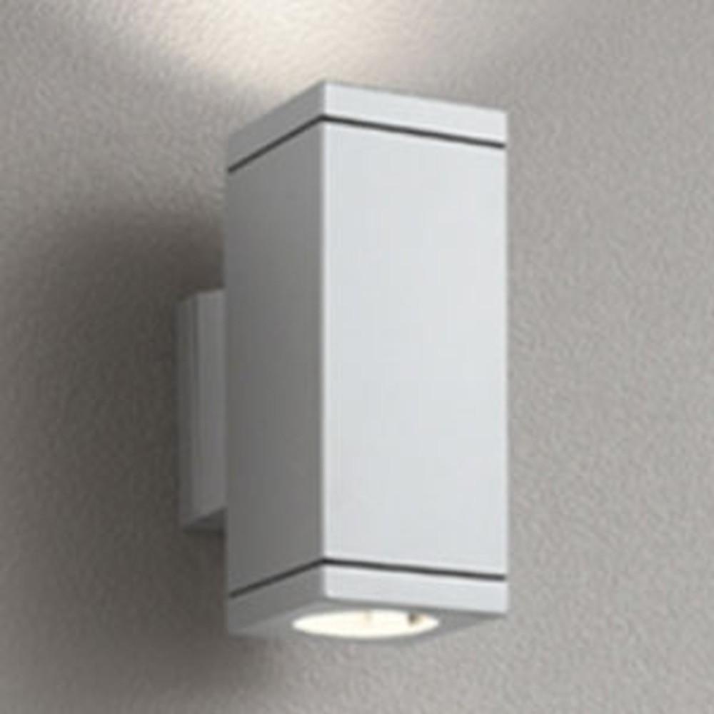 オーデリック LEDポーチライト 防雨型 上下配光タイプ JDR50W×2灯相当 E11口金 ランプ別売 マットシルバー OG254389