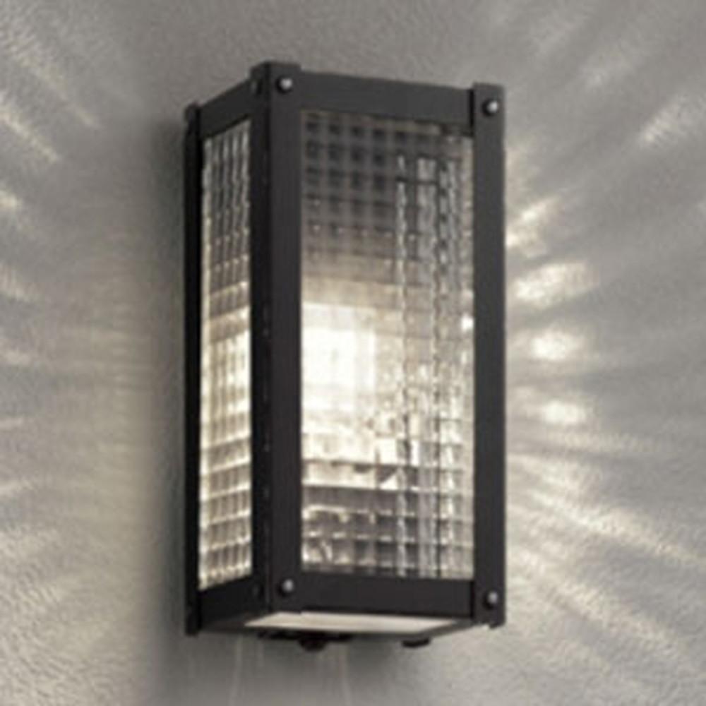 オーデリック LEDポーチライト 防雨型 白熱灯40W相当 電球色 人感センサ付 OG254487LC