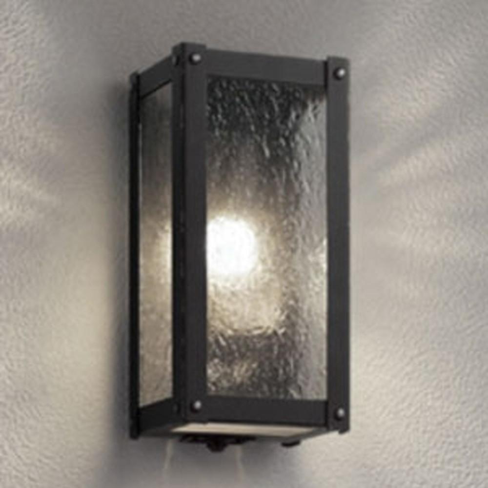 オーデリック LEDポーチライト 防雨型 白熱灯40W相当 電球色 人感センサ付 OG254488LC