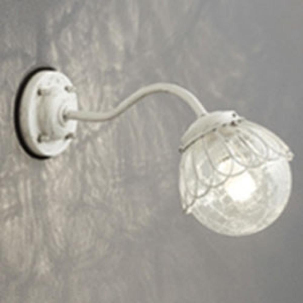 オーデリック LEDポーチライト 防雨型 白熱灯40W相当 電球色 別売センサ対応 アイボリー OG254105LC