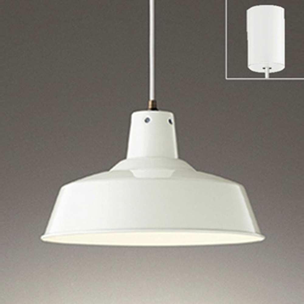 オーデリック LEDペンダントライト 白熱灯100W相当 電球色⇔昼白色 光色切替調光タイプ 白 OP252322PC