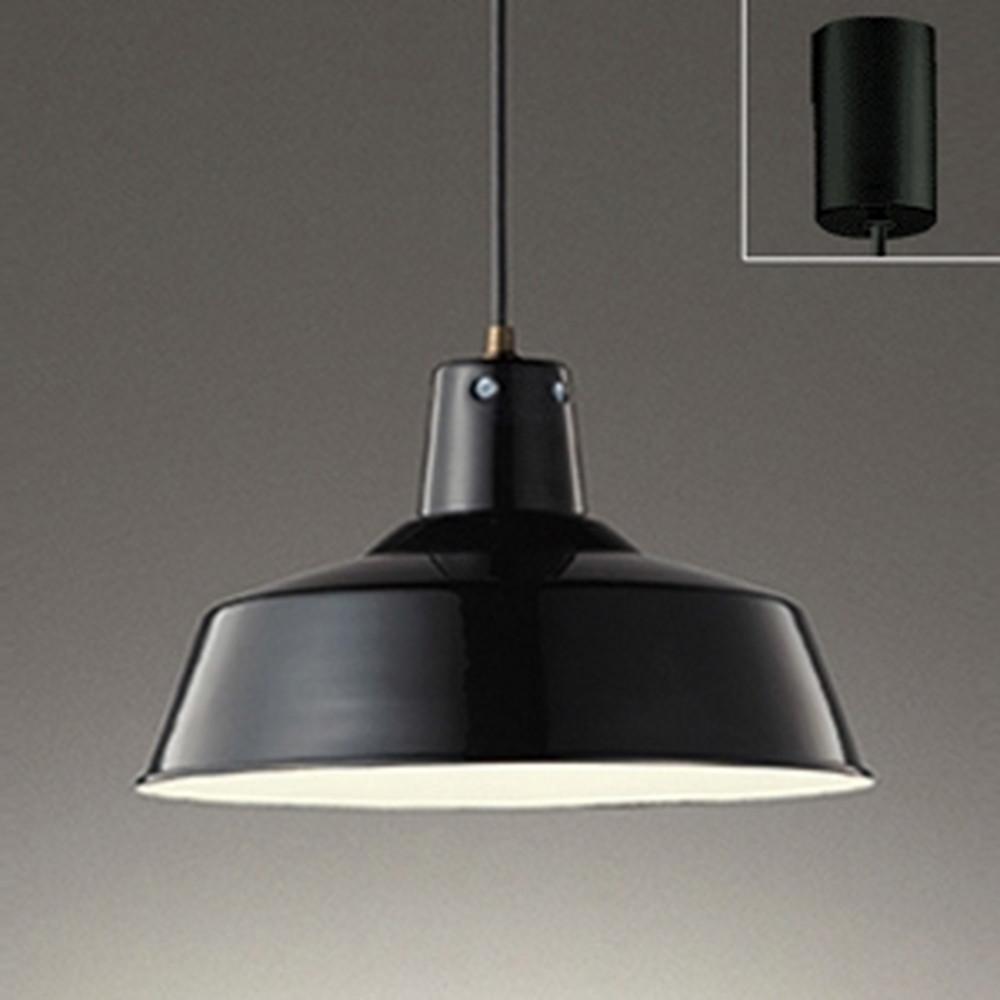 オーデリック LEDペンダントライト 白熱灯100W相当 電球色⇔昼白色 光色切替調光タイプ 黒 OP252323PC