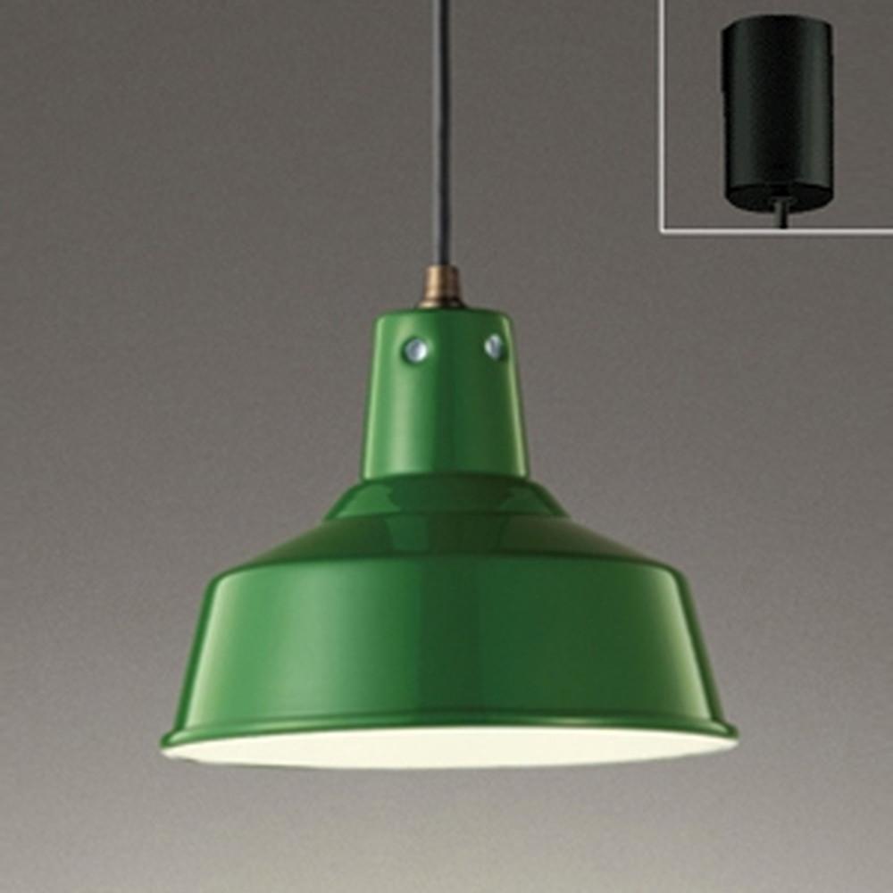 オーデリック LEDペンダントライト 引掛シーリングタイプ 白熱灯100W相当 電球色~昼光色 調光・調色タイプ Bluetooth®対応 緑 OP252327BC