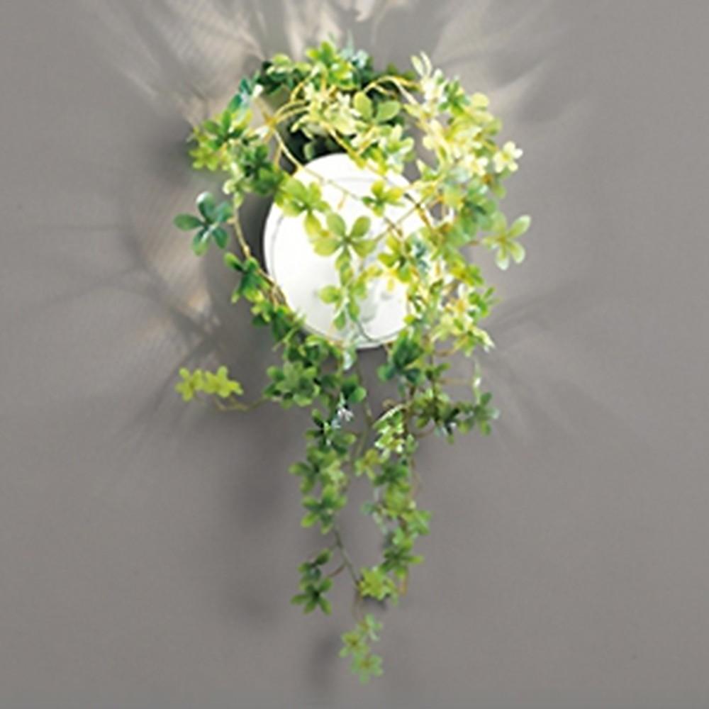 オーデリック LEDブラケットライト 白熱灯40W相当 電球色 フェイクグリーン付 OB255128LD