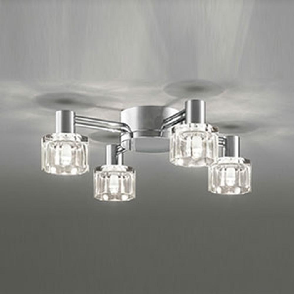 オーデリック LEDシャンデリア 白熱灯40W×4灯相当 電球色 調光タイプ OC257020LC
