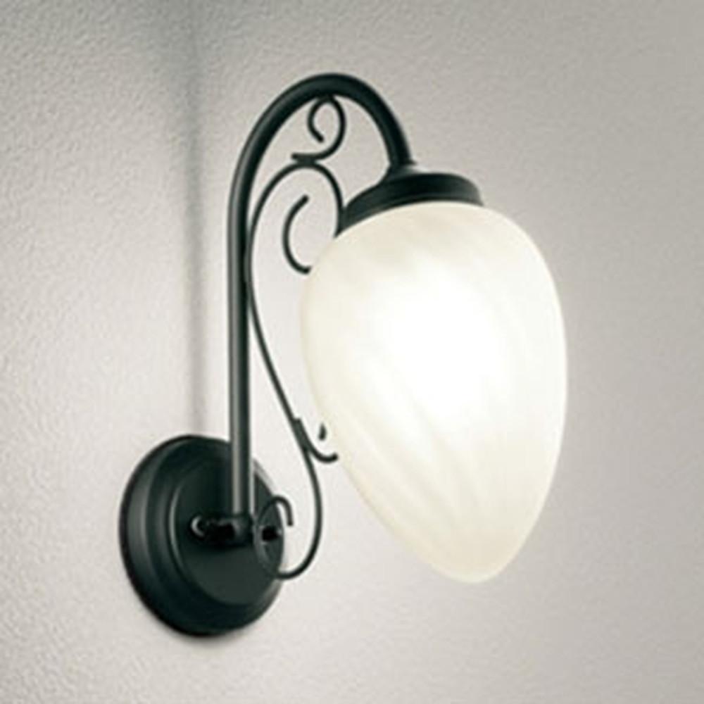 オーデリック LEDポーチライト 防雨型 白熱灯40W相当 電球色 別売センサ対応 ケシ OG254309LC