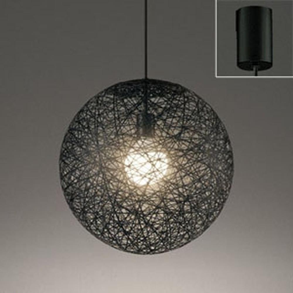 オーデリック LEDペンダントライト 白熱灯60W相当 電球色 黒 OP252337LD