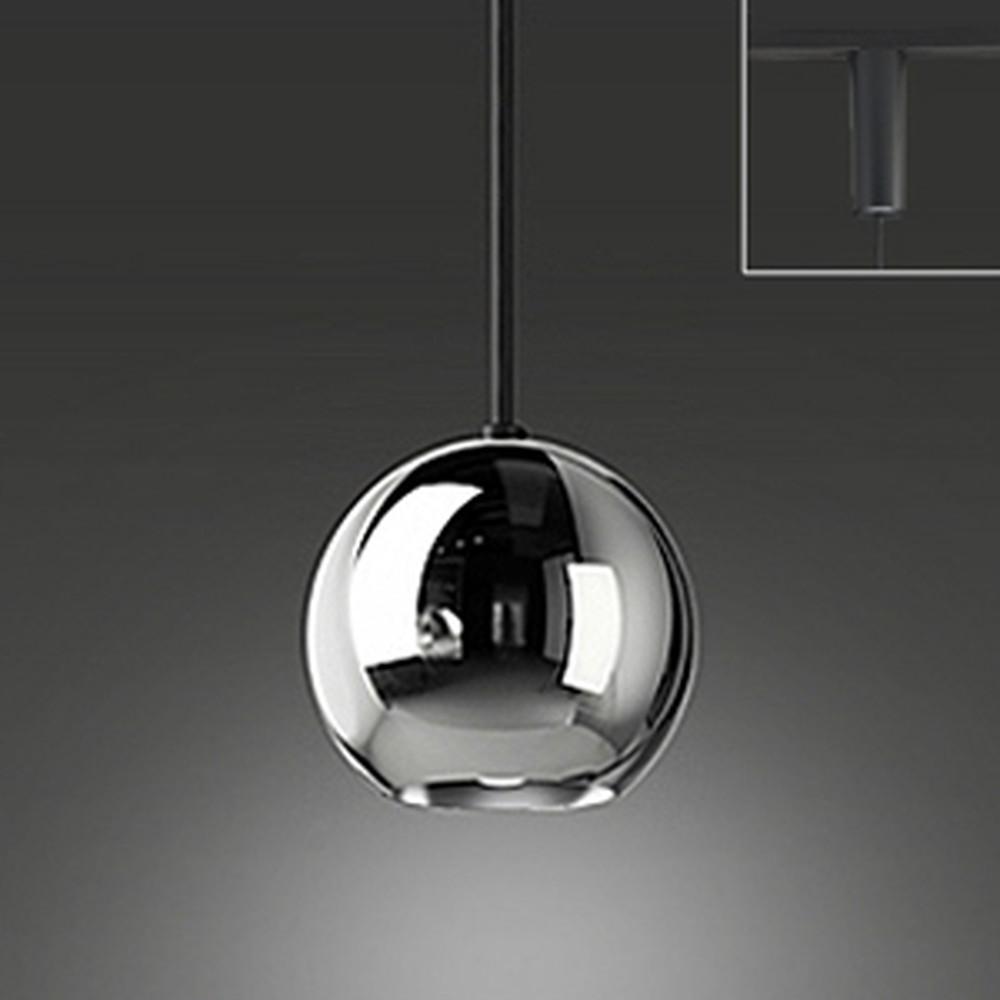 オーデリック LEDペンダントライト ライティングレール取付専用 白熱灯60W相当 電球色 ニッケルメッキ OP252317LD