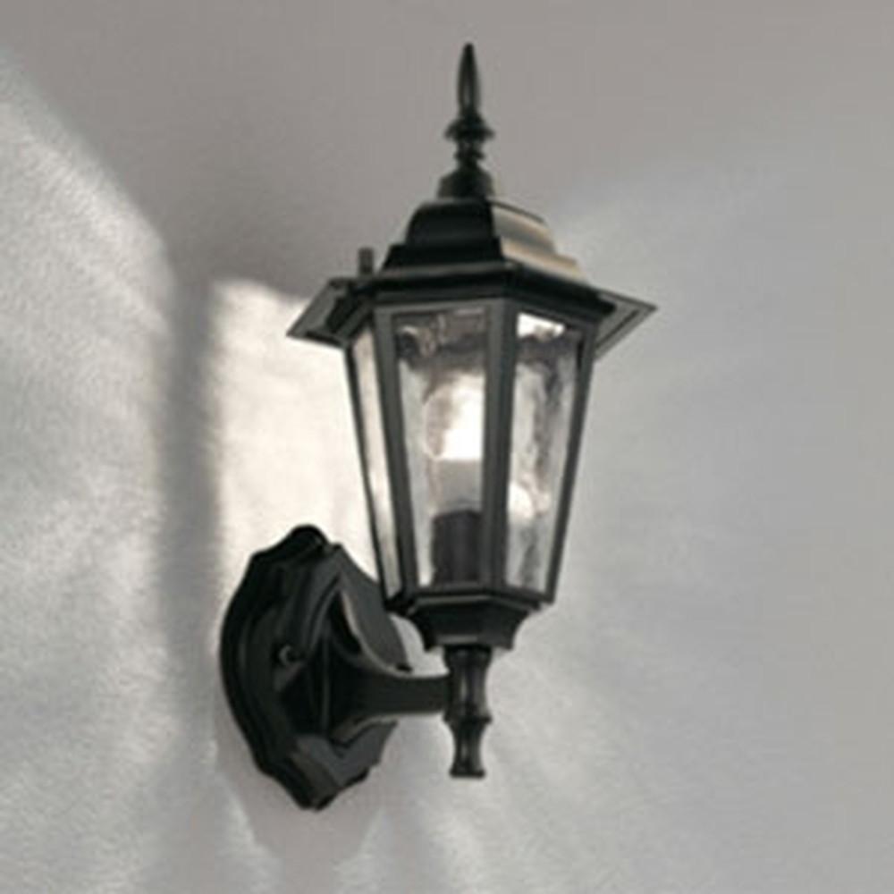 オーデリック LEDポーチライト 防雨型 白熱灯40W相当 電球色 黒 OG041690LC