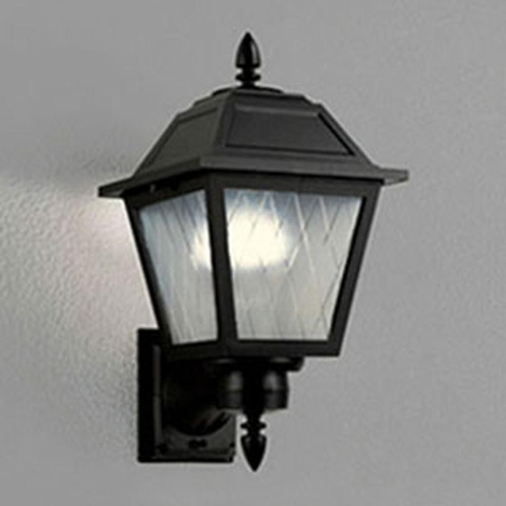 オーデリック LEDポーチライト 防雨型 白熱灯60W相当 電球色 別売センサ対応 黒 OG041359LC