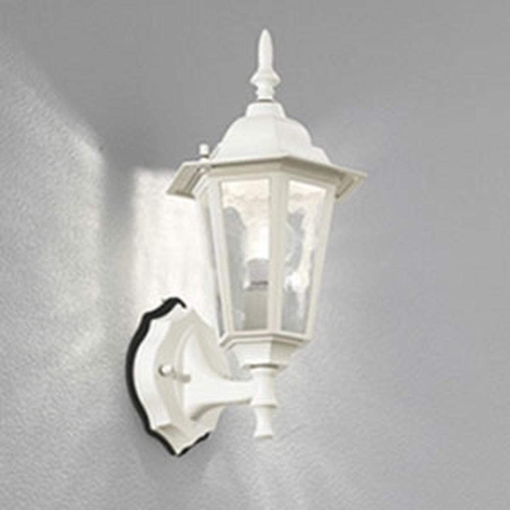 オーデリック LEDポーチライト 防雨型 白熱灯40W相当 電球色 白 OG041689LC