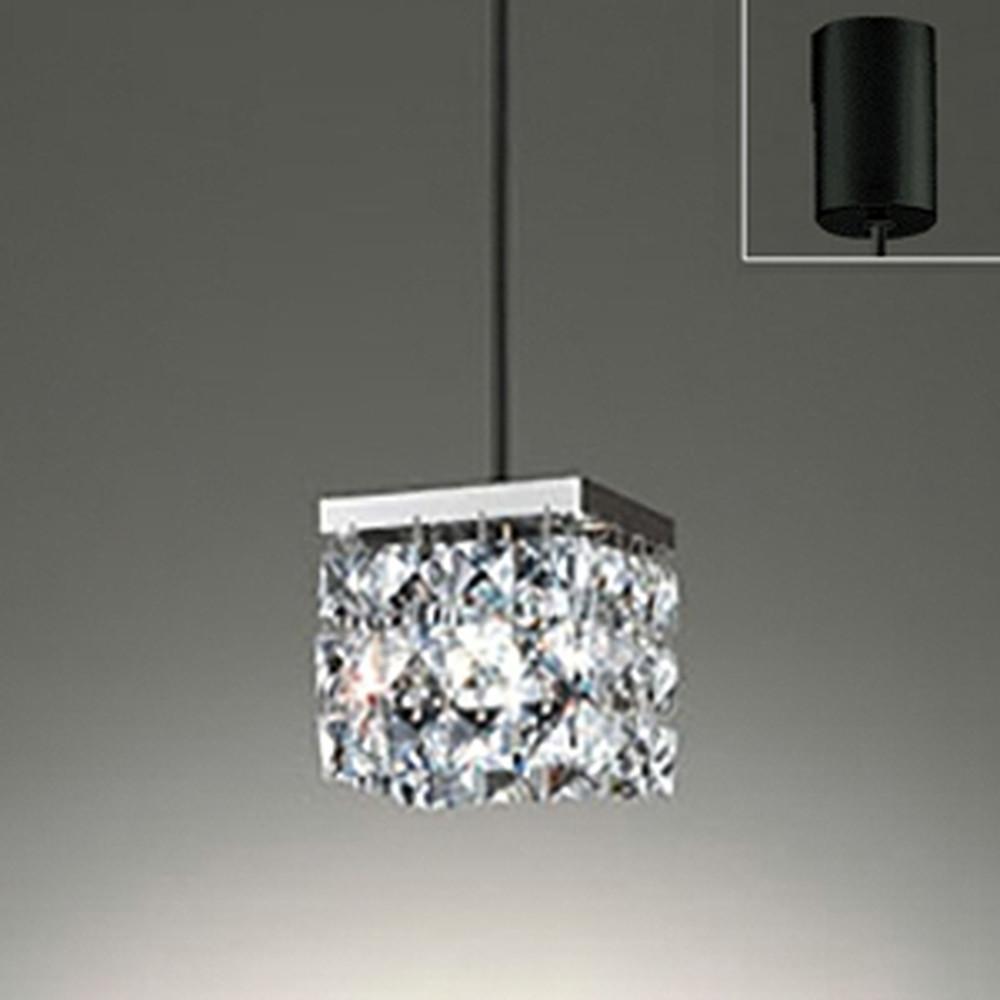 オーデリック LED一体型ペンダントライト 引掛シーリングタイプ 白熱灯60W相当 電球色 調光タイプ OP252360