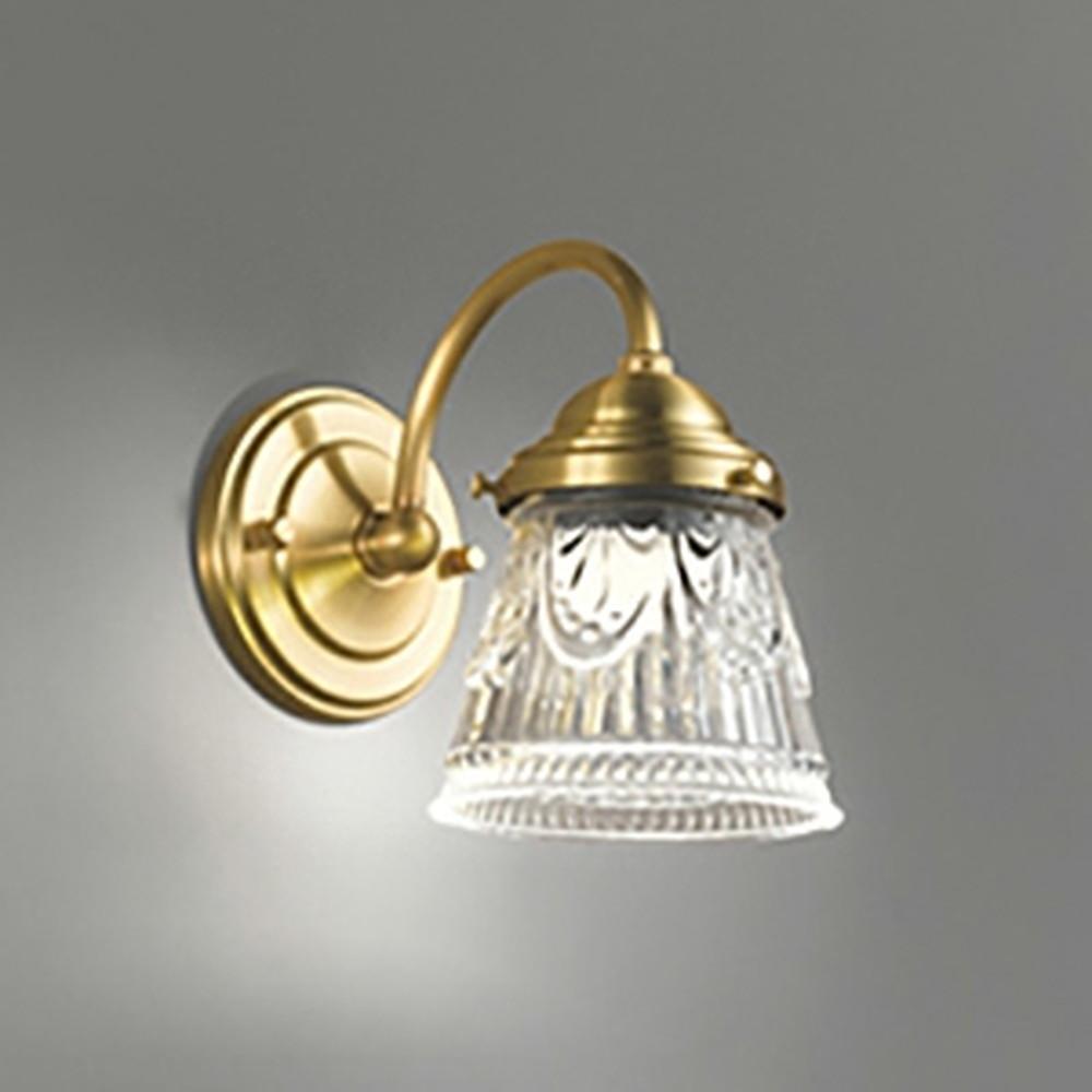 オーデリック LED一体型ブラケットライト 白熱灯60W相当 電球色 調光タイプ OB255026P1