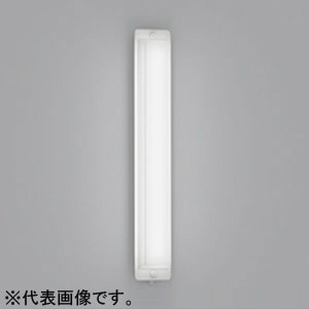 オーデリック LED一体型ポーチライト 防雨型 縦向き取付専用 FL20W相当 電球色 人感センサ付 OG254510