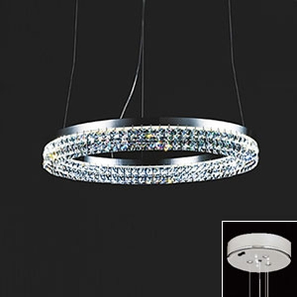 オーデリック LED一体型シャンデリア ~4.5畳用 電球色 調光タイプ リモコン付 OC257012P1