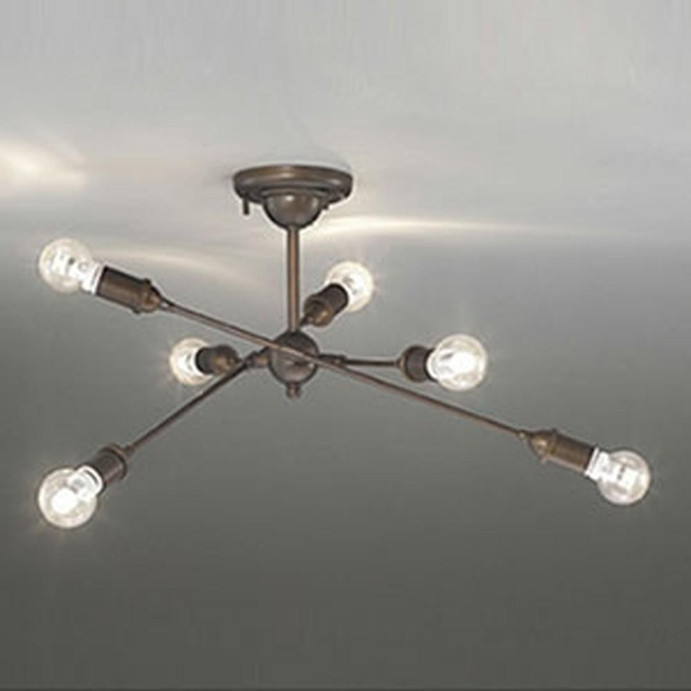 オーデリック LEDシャンデリア ~6畳用 6W×6灯タイプ 電球色 調光タイプ OC257050LC