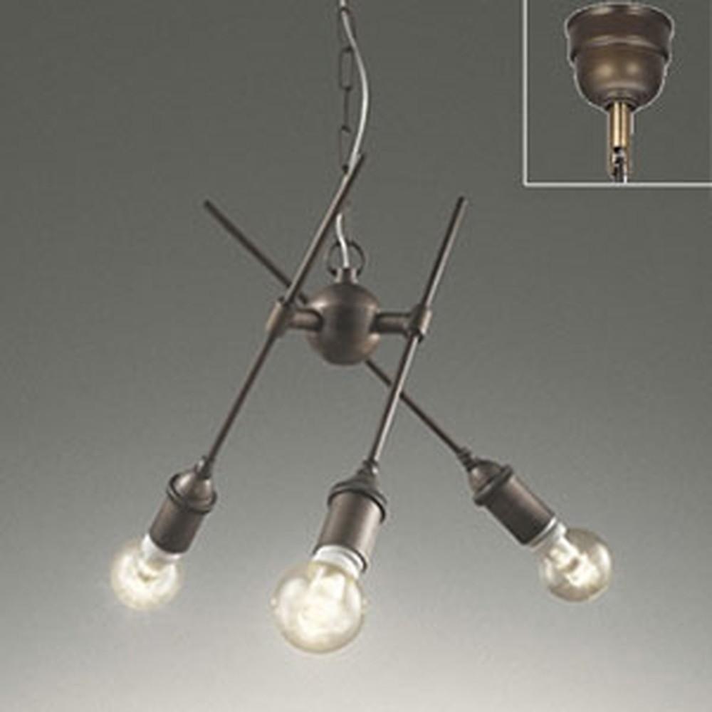 オーデリック LEDシャンデリア 白熱灯40W×3灯相当 電球色 調光タイプ OC257051LC