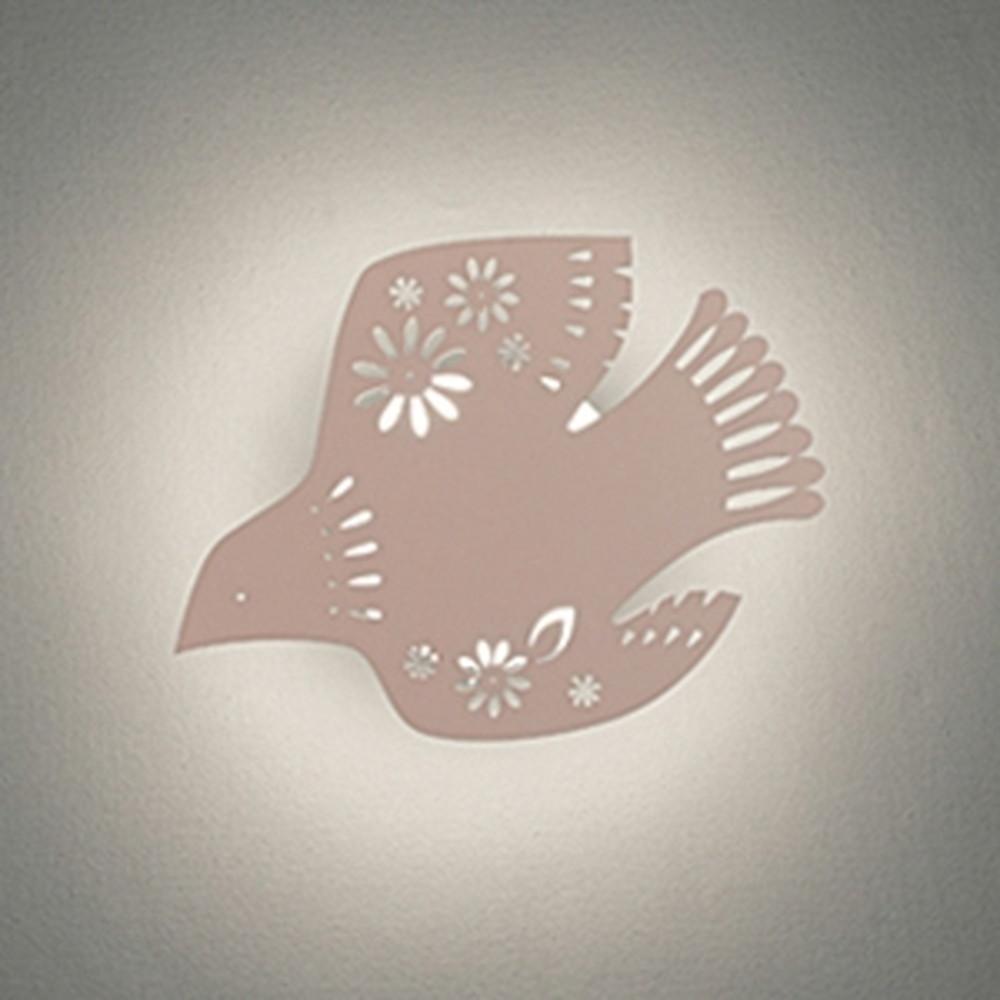オーデリック LED一体型ブラケットライト 《DECO WALL LIGHT》 電球色 鳥 OB255158