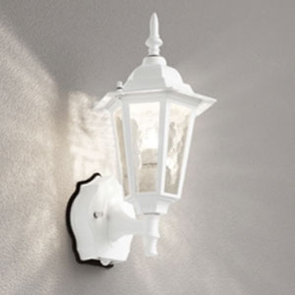 オーデリック LEDポーチライト 防雨型 白熱灯40W相当 電球色 人感センサ付 白 OG254632LC