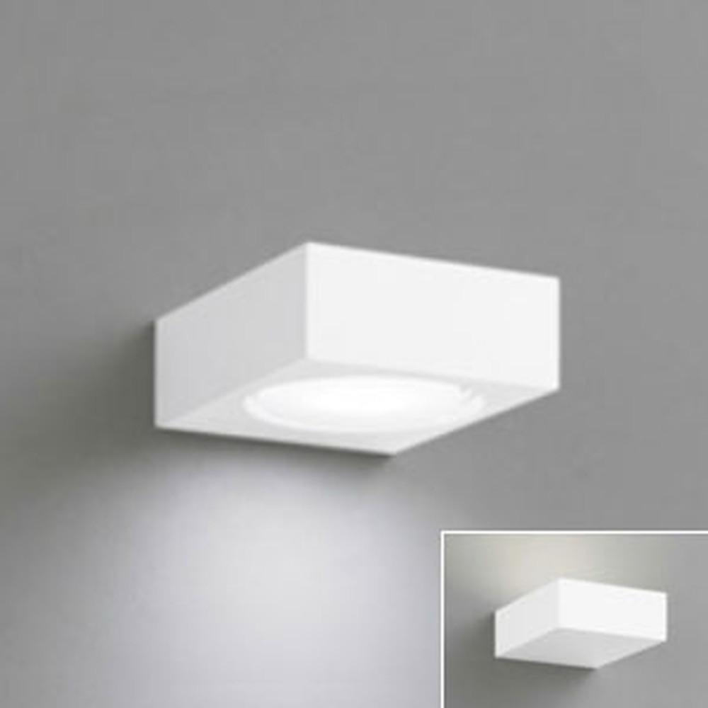 オーデリック LEDブラケットライト 壁面・天井面・傾斜面取付兼用 上・下・縦向き取付可能 白熱灯60W相当 電球色⇔昼白色 光色切替調光タイプ OB255028PC