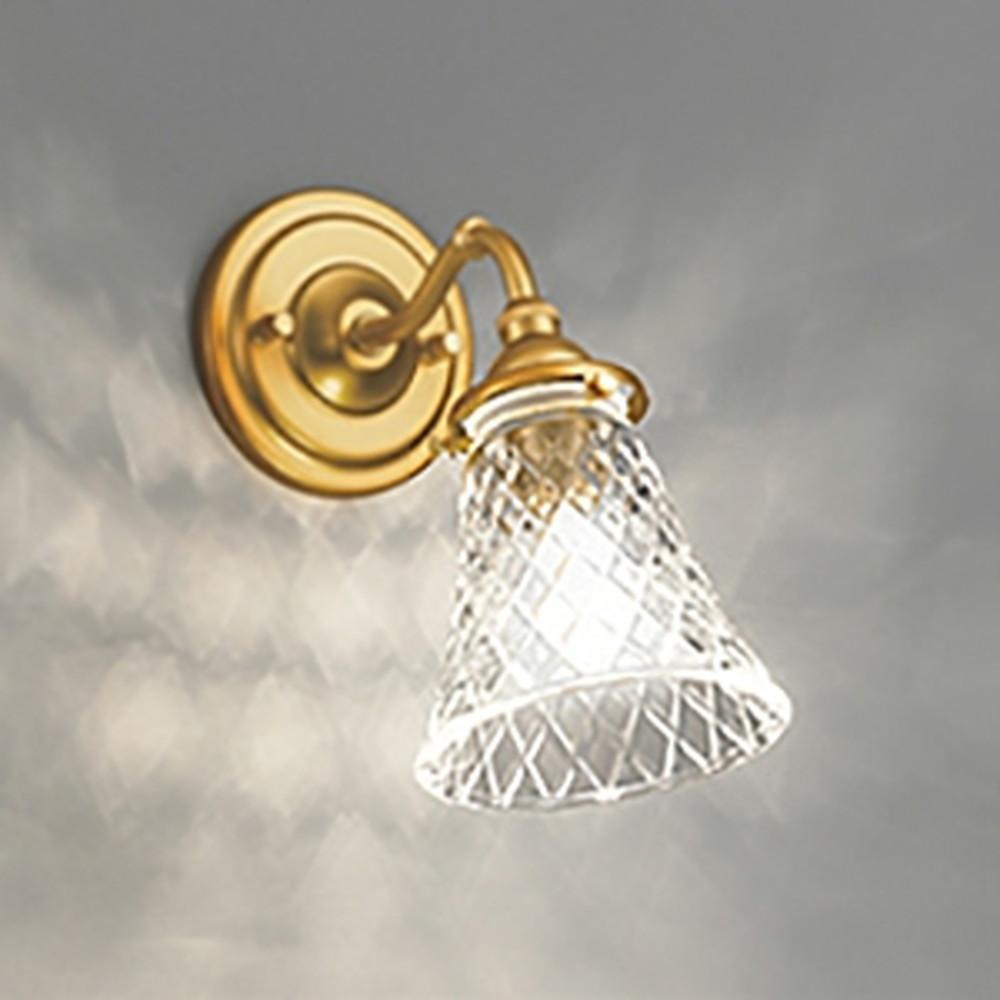 オーデリック LEDブラケットライト 白熱灯40W相当 電球色~昼光色 調光・調色タイプ Bluetooth®対応 乳白ケシガラス OB255137BC