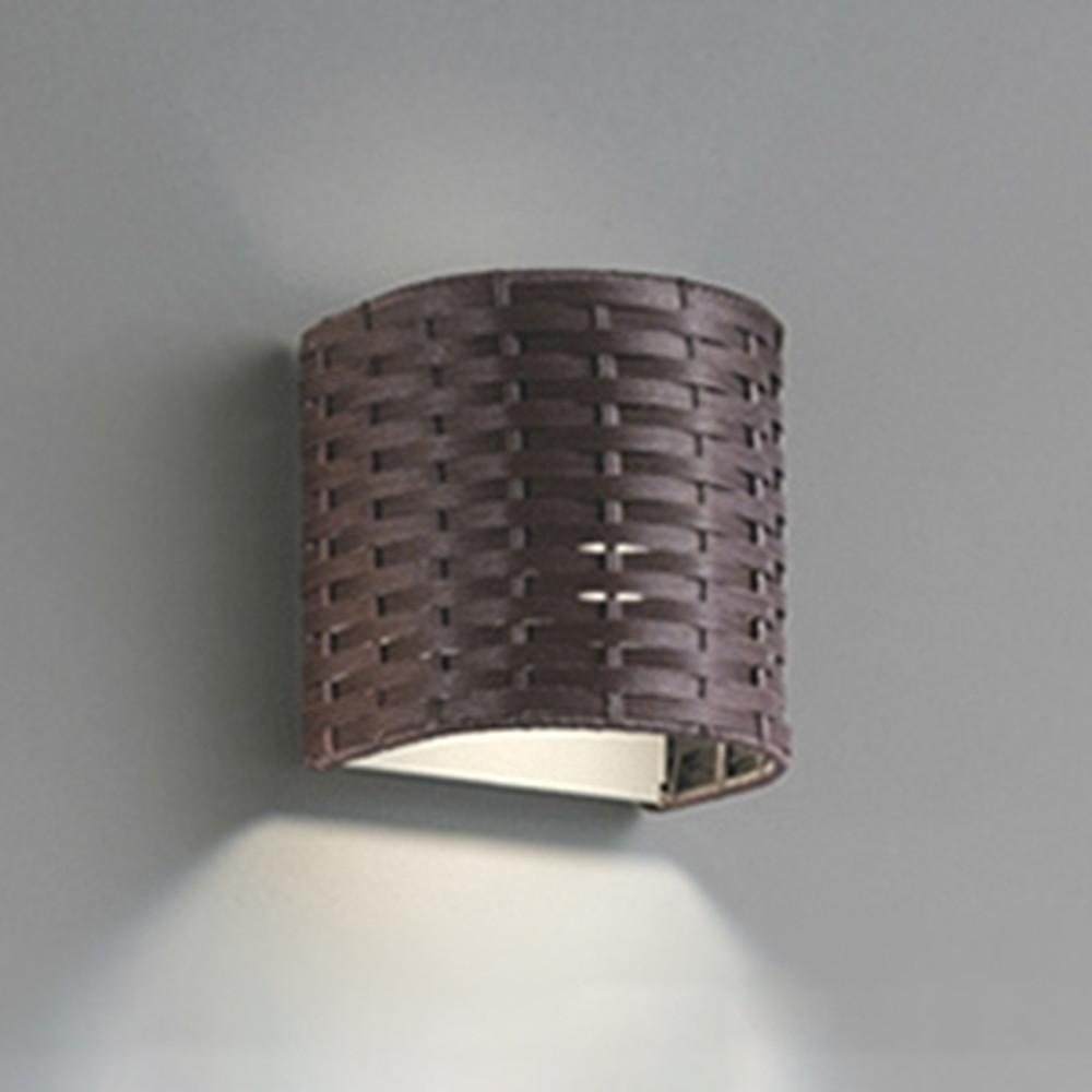 オーデリック LEDブラケットライト 白熱灯60W相当 電球色⇔昼白色 光色切替調光タイプ こげ茶 OB255141PC