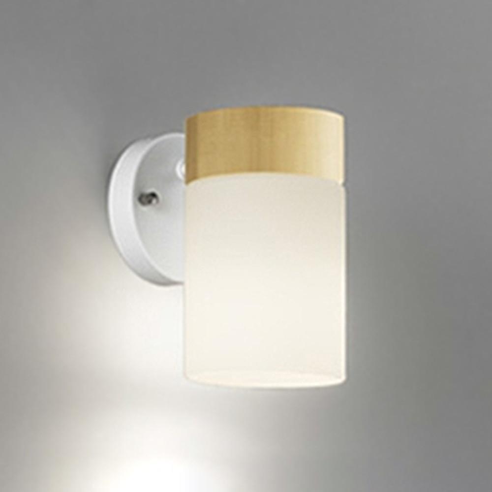 オーデリック LEDブラケットライト 上・下向き取付可能 白熱灯60W相当 電球色~昼光色 調光・調色 Bluetooth®対応 ナチュラル OB255162BC