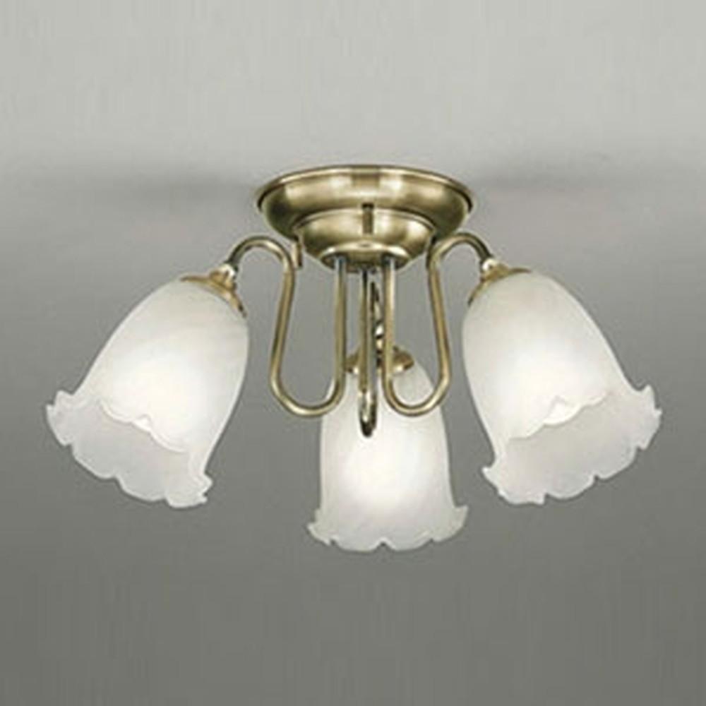 オーデリック LEDシャンデリア 白熱灯100W×3灯相当 電球色~昼光色 調光・調色タイプ Bluetooth®対応 OC006783BC