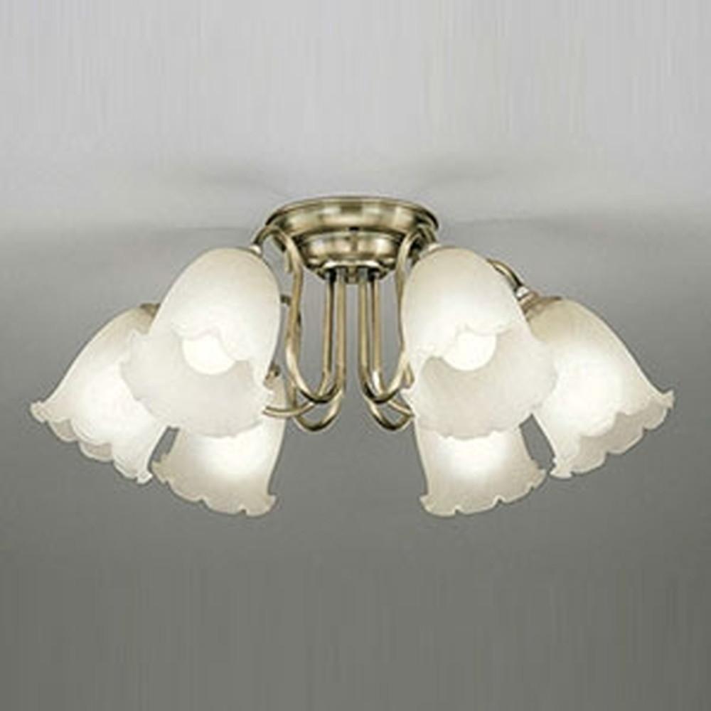 オーデリック LEDシャンデリア ~8畳用 9W×6灯タイプ 電球色~昼光色 調光・調色タイプ Bluetooth®対応 OC006786BC