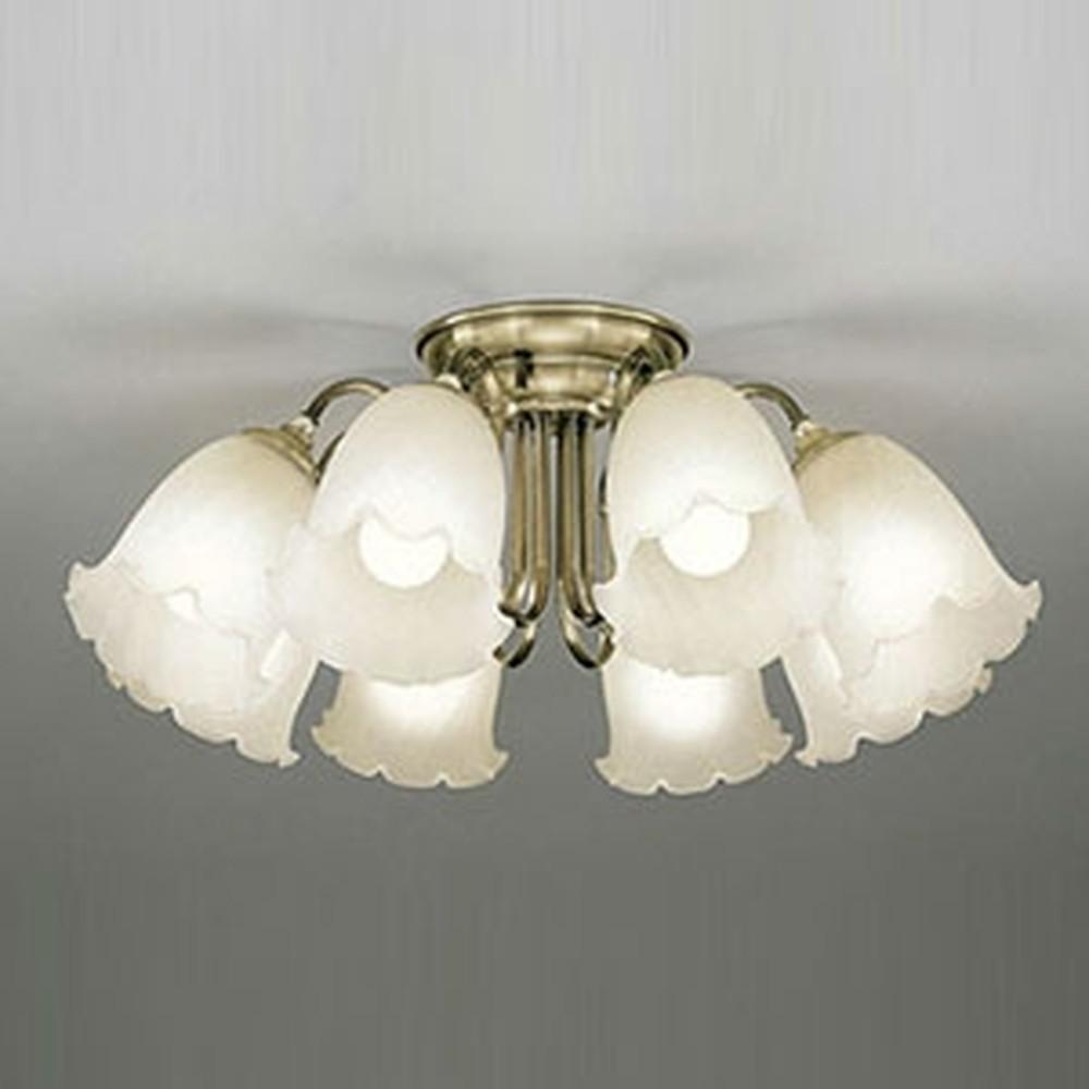 オーデリック LEDシャンデリア ~12畳用 9W×8灯タイプ 電球色~昼光色 調光・調色タイプ Bluetooth®対応 OC006788BC
