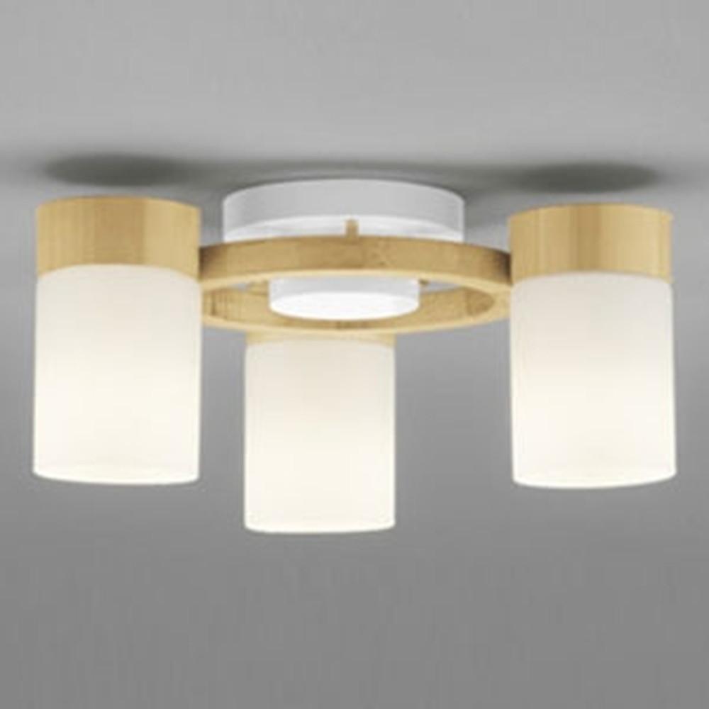 オーデリック LEDシャンデリア 白熱灯100W×3灯相当 電球色~昼光色 調光・調色タイプ Bluetooth®対応 ナチュラル OC257066BC