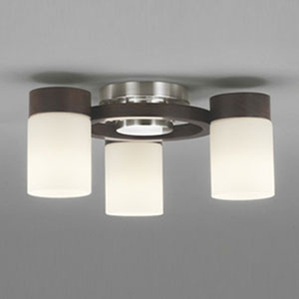 オーデリック LEDシャンデリア 白熱灯100W×3灯相当 電球色~昼光色 調光・調色タイプ Bluetooth®対応 エボニーブラウン OC257072BC