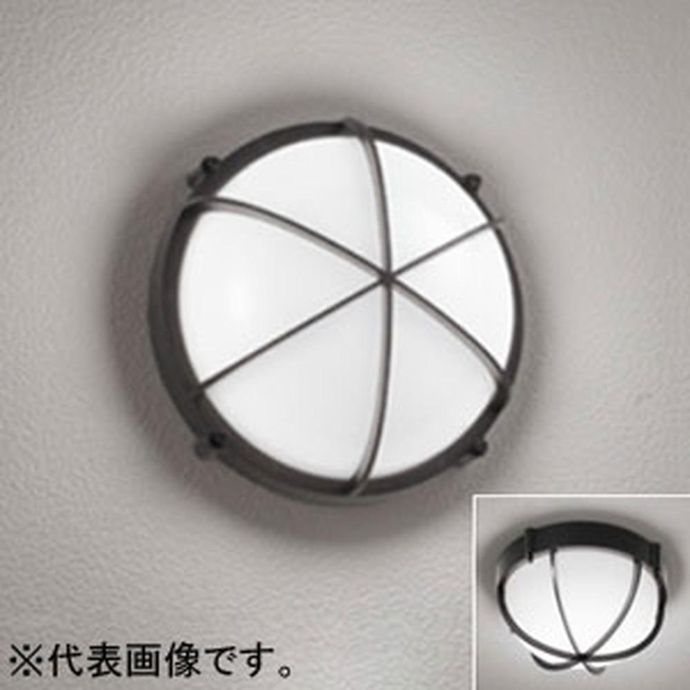 オーデリック LEDポーチライト 防雨・防湿型 壁面・天井面・傾斜面取付兼用 FCL20W相当 昼白色 OG254597ND