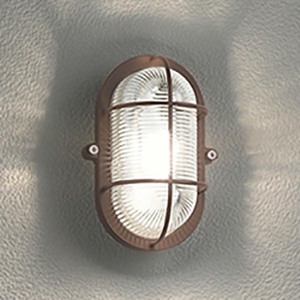 オーデリック LEDブラケットライト 防雨・防湿型 壁面・天井面・傾斜面取付兼用 縦・横向き取付可能 白熱灯40W相当 電球色 鉄錆 OG254606LD