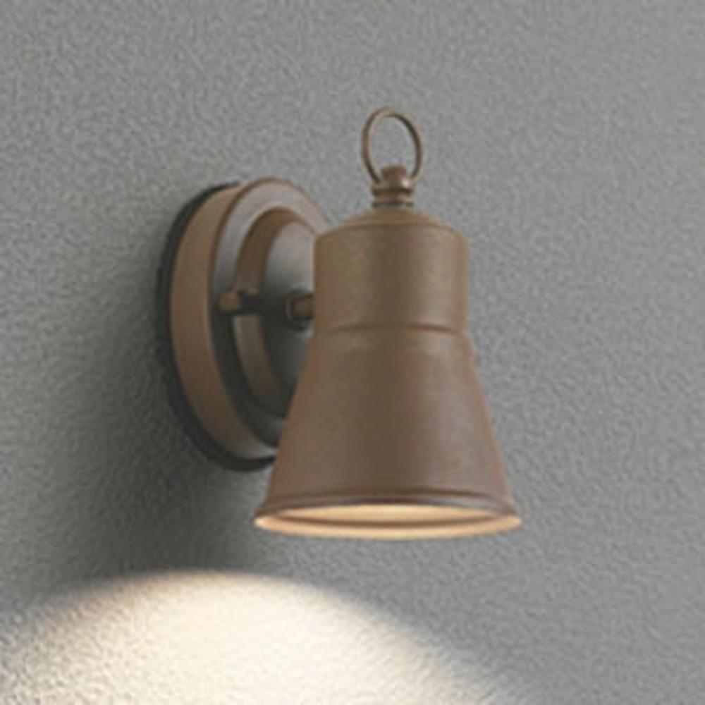 オーデリック LEDブラケットライト 防雨型 コンパクトタイプ 白熱灯60W相当 電球色 鉄錆 OG254629LD