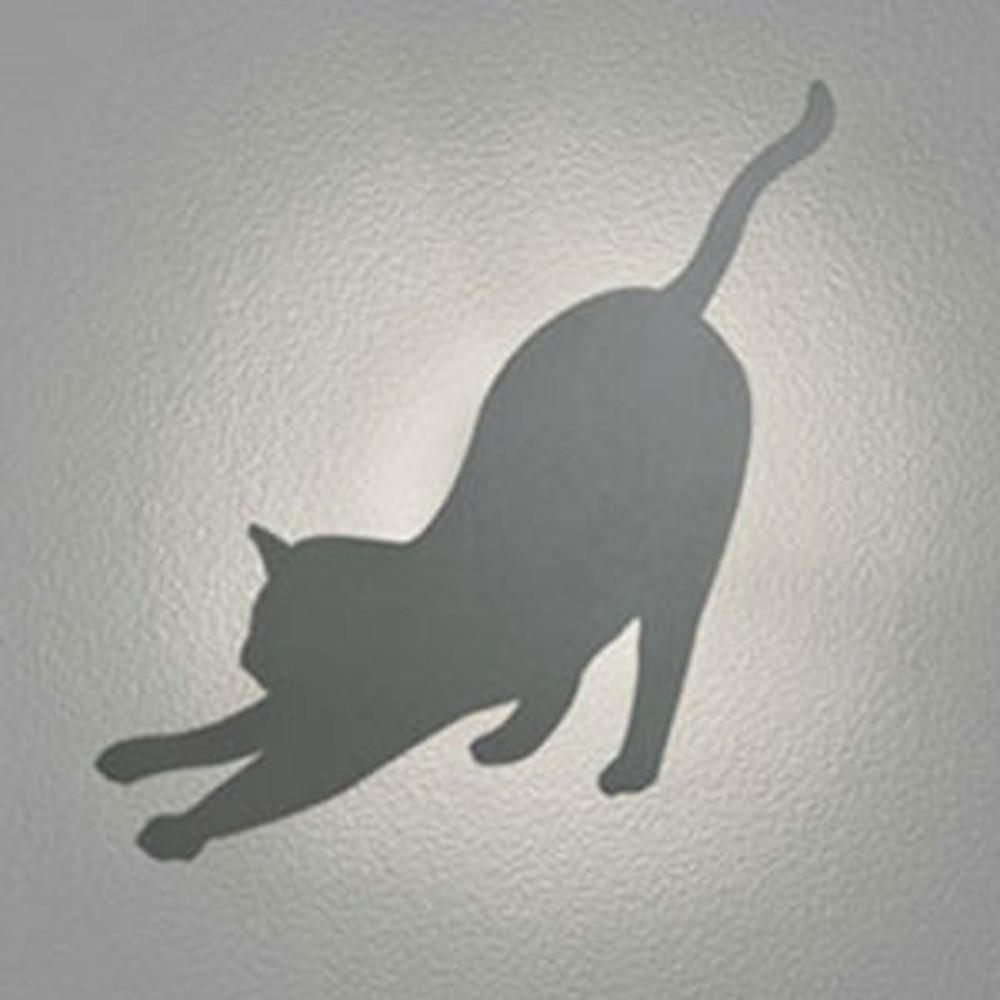 オーデリック LED一体型ポーチライト 《DECO WALL LIGHT S》 防雨型 電球色 ネコ OG254641