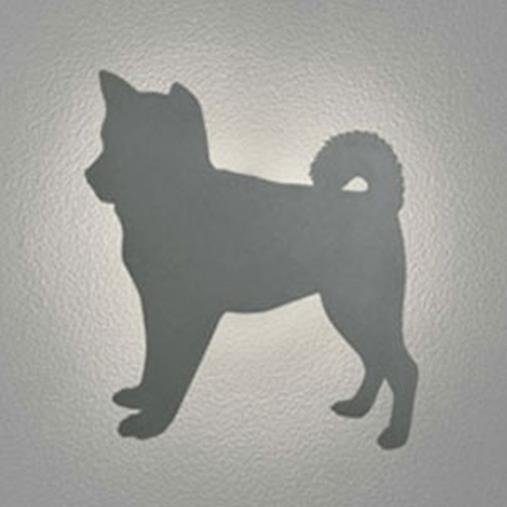 オーデリック LED一体型ポーチライト 《DECO WALL LIGHT S》 防雨型 電球色 柴犬 OG254643