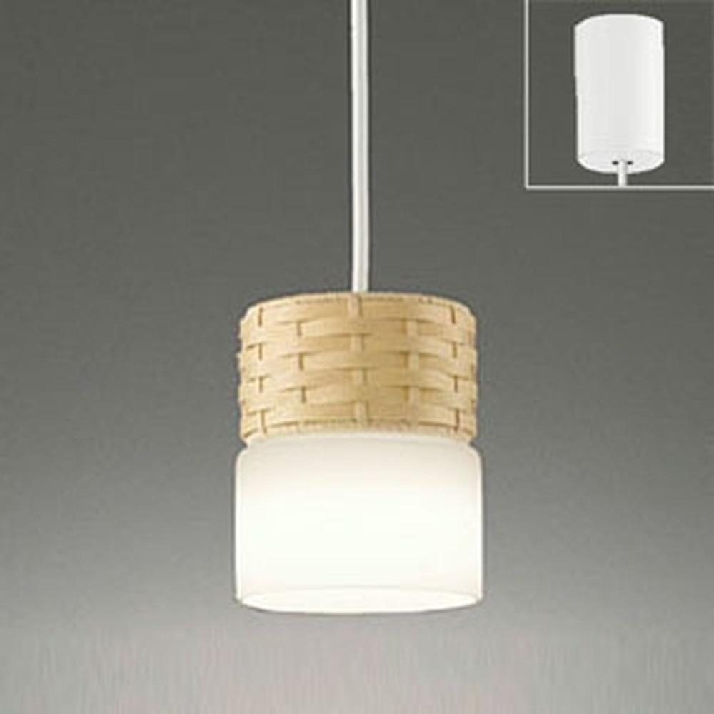 オーデリック LEDペンダントライト 引掛シーリングタイプ 白熱灯60W相当 電球色・昼白色 光色切替調光タイプ ベージュ OP252380PC