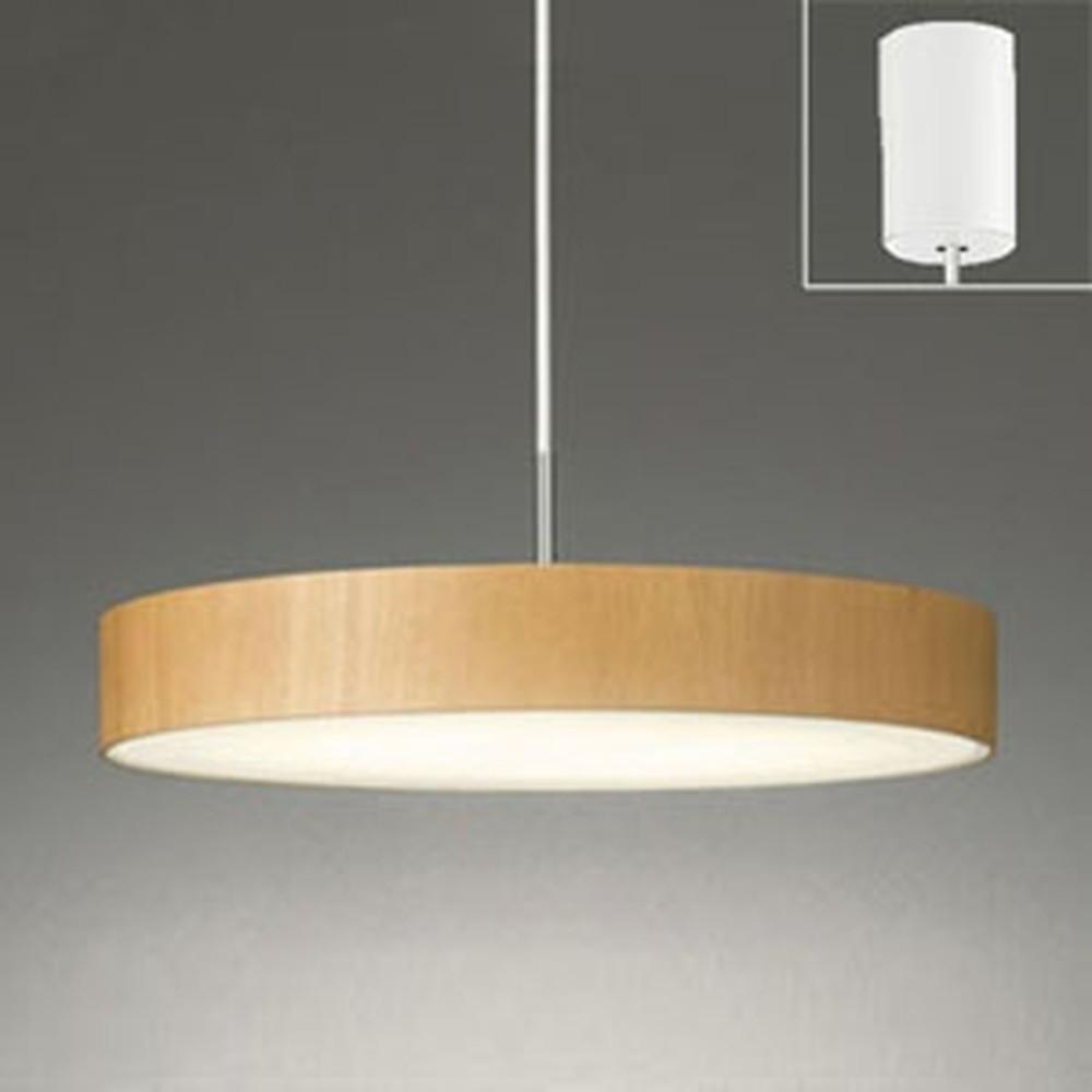 オーデリック LEDペンダントライト FCL30W相当 電球色 ナチュラル OP252399LD