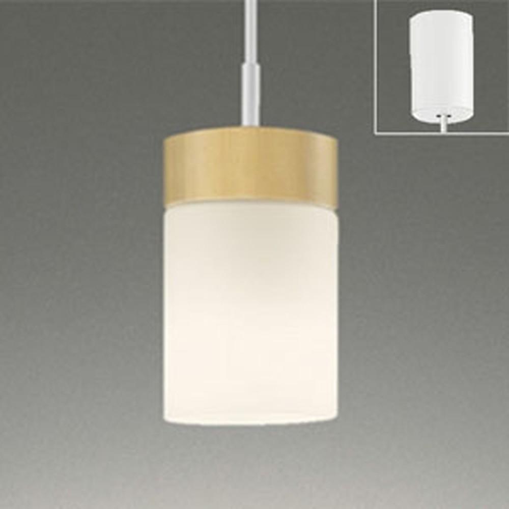 オーデリック LEDペンダントライト 引掛シーリングタイプ 白熱灯60W相当 電球色 ナチュラル OP252432LD