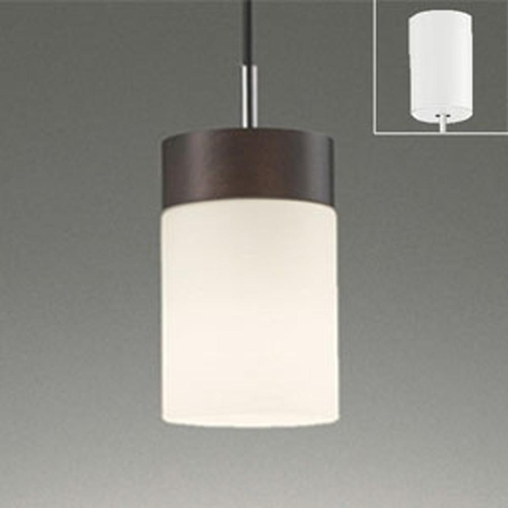 オーデリック LEDペンダントライト 引掛シーリングタイプ 白熱灯60W相当 電球色・昼白色 光色切替調光タイプ エボニーブラウン OP252434PC