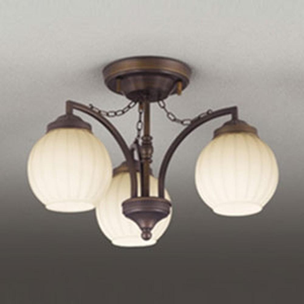 オーデリック LEDシャンデリア 白熱灯60W×3灯相当 電球色⇔昼白色 光色切替調光タイプ OC257079PC