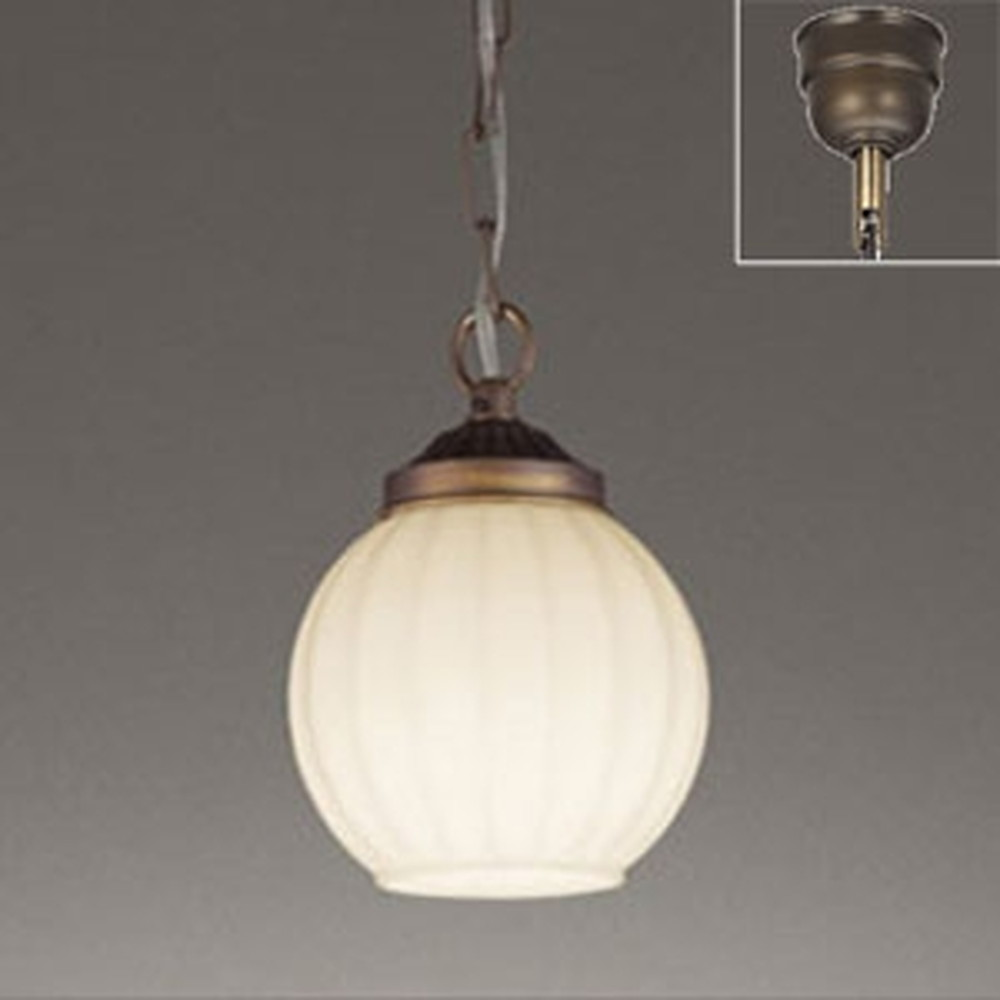 オーデリック LEDペンダントライト 白熱灯60W相当 電球色 OP252446LD