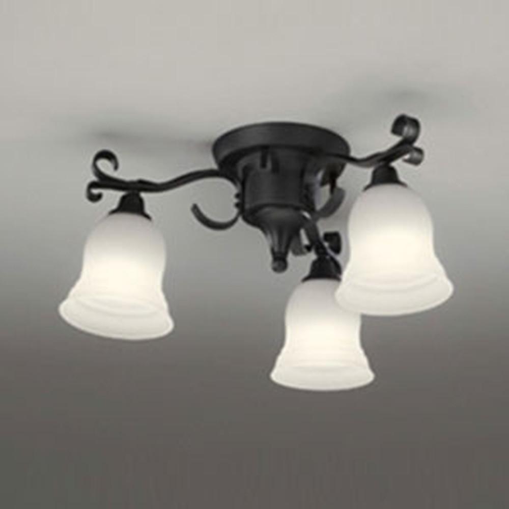 オーデリック LEDシャンデリア 白熱灯60W×3灯相当 電球色⇔昼白色 光色切替調光タイプ OC257083PC